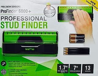 Precision Sensor ProFinder 6000+ Professional Stud Finder Tool