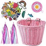 Kid's Bicycle Basket Streamers S...