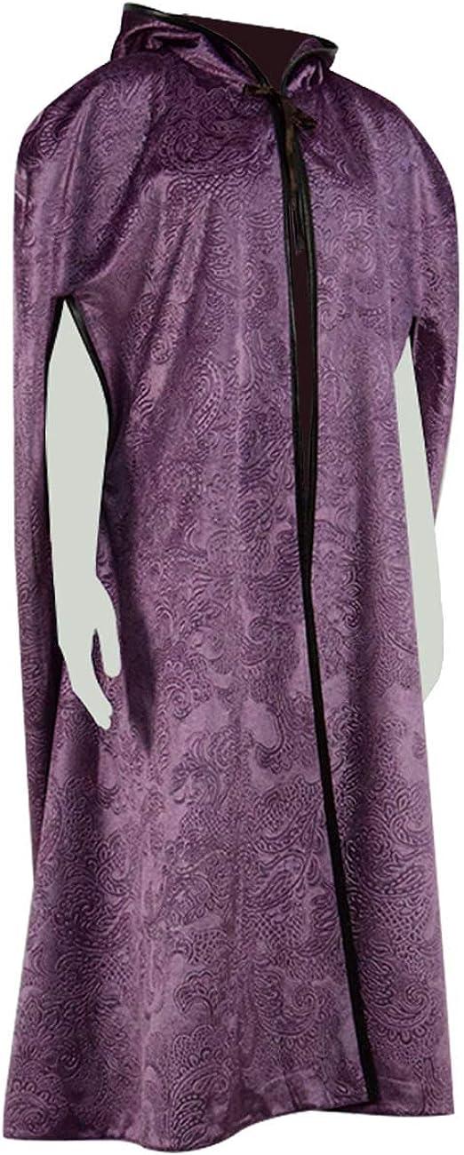 TV Series The El Paso Mall Handmaid June Cape Max 68% OFF Purple Women Costume Cloak