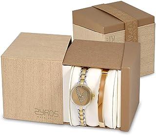 Zyros Watch Set for Women , Quartz , Metal , SZY399L01014401
