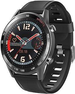 YinXX Reloj Inteligente para Hombres, Reloj De Fitness con Pantalla TáCtil Completa De 1.3 Pulgadas con Monitor De Frecuencia CardíAca Y SueñO, Reloj Deportivo A Prueba De Agua con CronóMetro