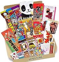 Dagashi 20 stuks Japanse snacks met AKIBA KING stickers