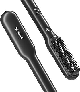 برس تقویت شده موی یونی ، قفل خودکار دما