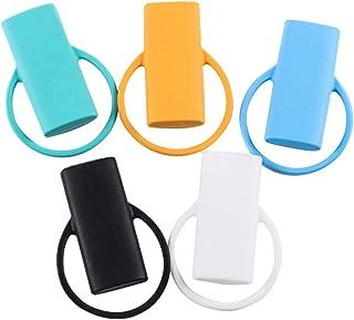 Funda de encendedor de silicona Portátil 20 Cubierta de cigarrillo Protector de la carcasa del encendedor antideslizante -...