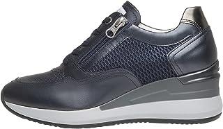 Nero Giardini E010466D Sneakers Femme en Cuir