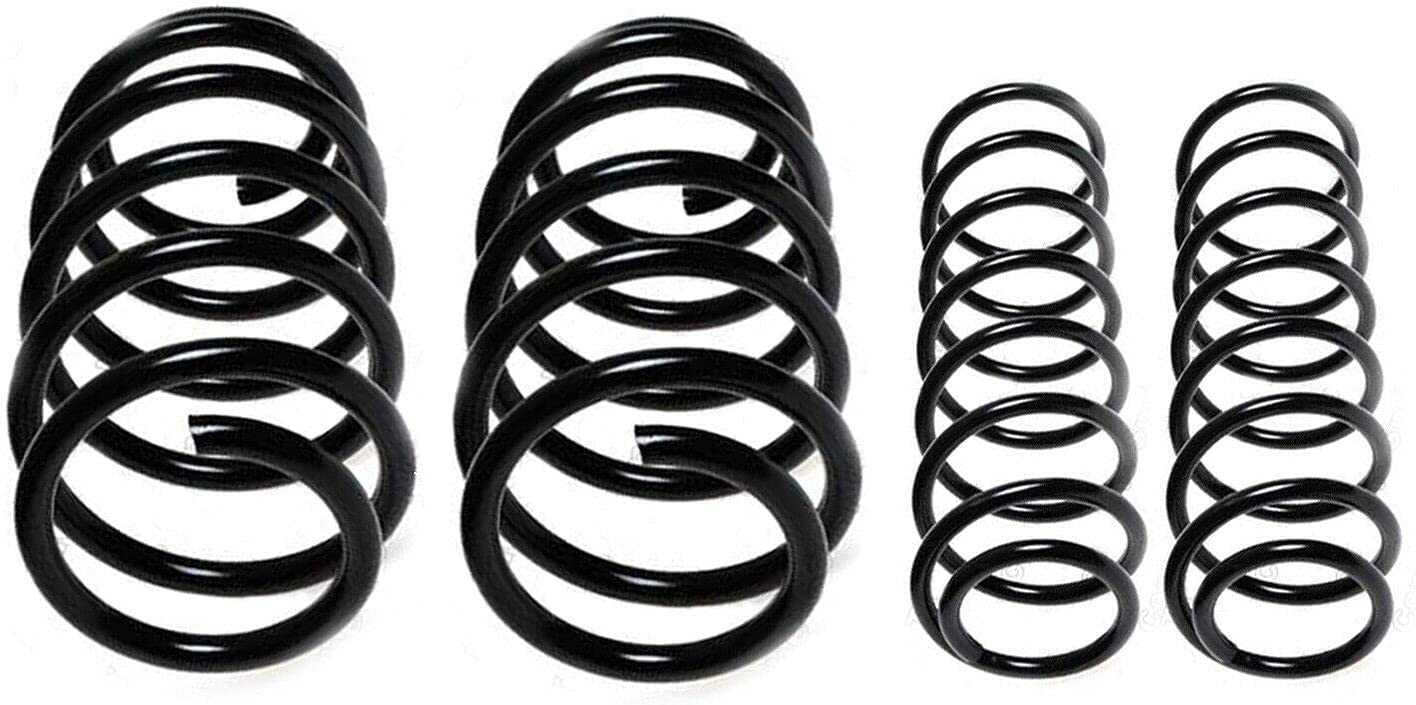 Front Rear Super sale Coil Spring San Francisco Mall kit Compatible with Turbo With 9-5 Saab