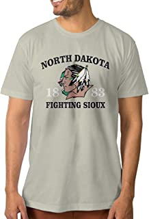 Juice Forus Men's North Dakota Fightin Sioux T Shirt New Style Natural