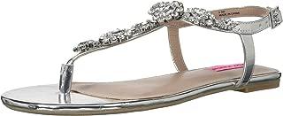 Women's Crystal Flat Sandal