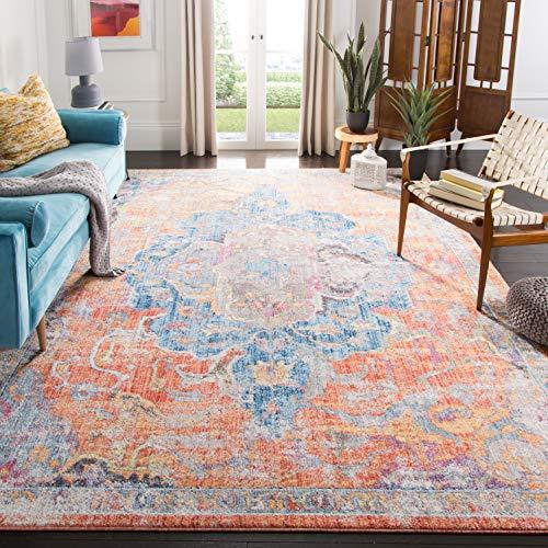 Safavieh Eleganter Teppich BTL350 Blau / Orange 200 X 300 cm