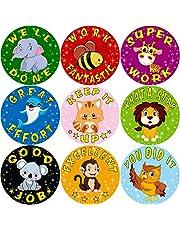 Fancy Land Stickers for Kids 200Pcs Per Roll Sticker for Teacher Classroom multicolored Reward stickers