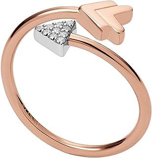 Fossil Ring JFS00429998505 Gold,6.5 US