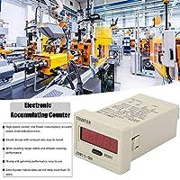 アンチジャミングLCDデジタルタリーカウンター、電子カウンター、プラスチックJDM11-5H自動コンベヤーベルトシステム巻線機用の耐衝撃性5桁(DC12V)