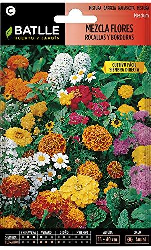 Semillas de Flores - Mezcla de Flores para Rocallas y Borduras - Batlle