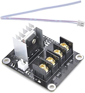 3D Printer Mosfet 2 Pack FYSETC Mini Heat Bed Module Hot Bed Power Expansion Board High Current Load MOS Tube with Cable for Makerbot Creality CR-10 Ender 3 Finder Creator Reprap Controller Board