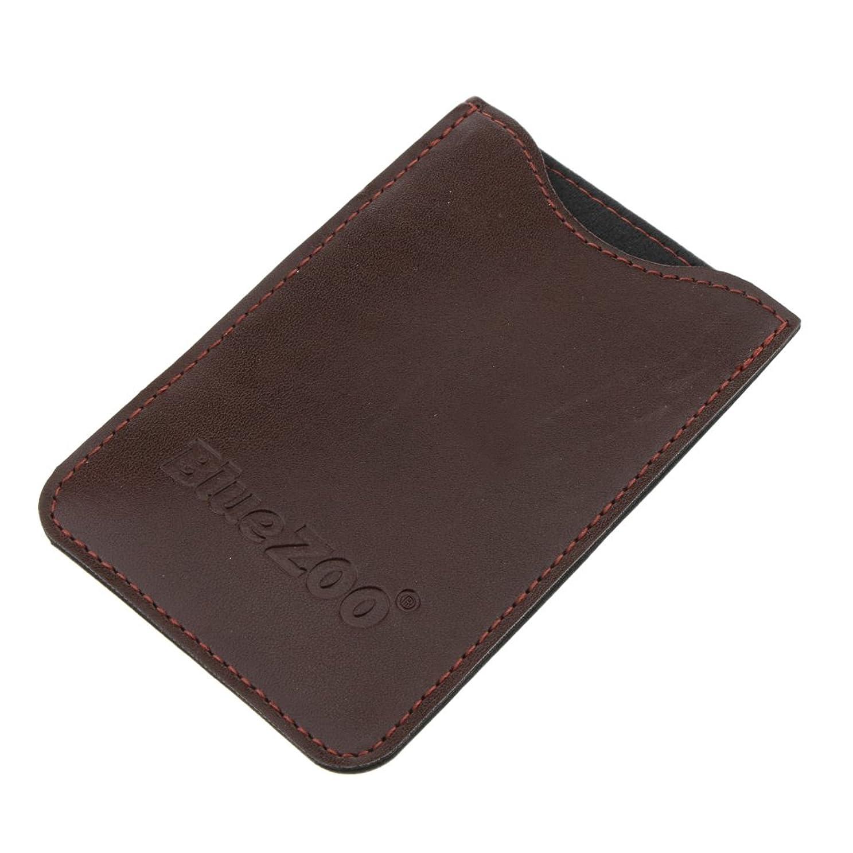 あなたのもの組み合わせるパンツPerfeclan コンビバッグ PUレザー 櫛バッグ ポケット オーガナイザー 収納ケース 保護カバー パック 全2色 - 褐色