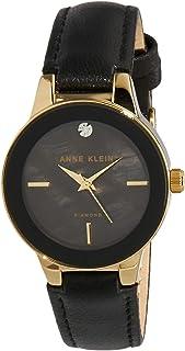 Anne Klein AK/N2686GPBK Analog Quartz Black Watch