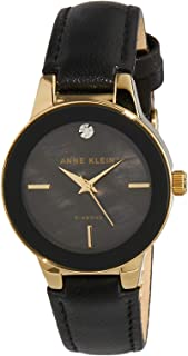 Anne Klein AK/N2686GPBK Analog Quartz Black Watch