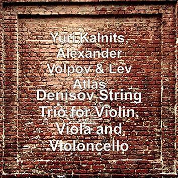 Denisov String Trio for Violin, Viola and Violoncello