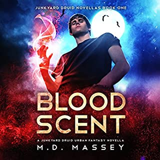 Blood Scent     Junkyard Druid Novellas, Book 1              By:                                                                                                                                 M.D. Massey                               Narrated by:                                                                                                                                 Steven Barnett                      Length: 3 hrs and 13 mins     111 ratings     Overall 4.3