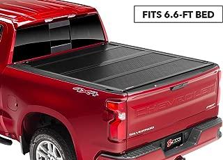 BAKFlip F1 Hard Folding Truck Bed Tonneau Cover   772131   fits 2019 GM Silverado, Sierra 6' 6