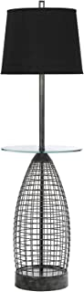 AF Lighting 8470-FL 1 Light Floor Lamp in Antique Pewter
