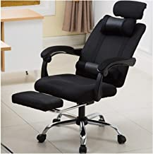 Office Chair Furniture Computer Chair Mesh Office Chair Home Ergonomic Lifting Rotating Recliner Office Chair Black