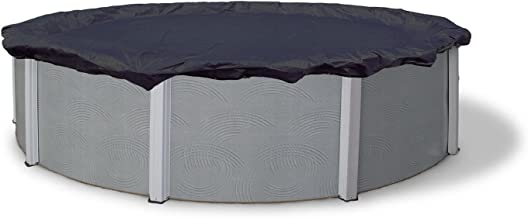 Winter Block WC18R Swimming Pool Winter Cover with Winch and Cable, 18'