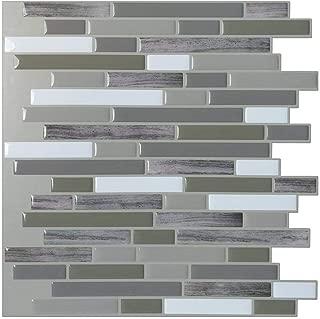 Art3d Peel and Stick Wall Tile for Kitchen/Bathroom Backsplash, 12