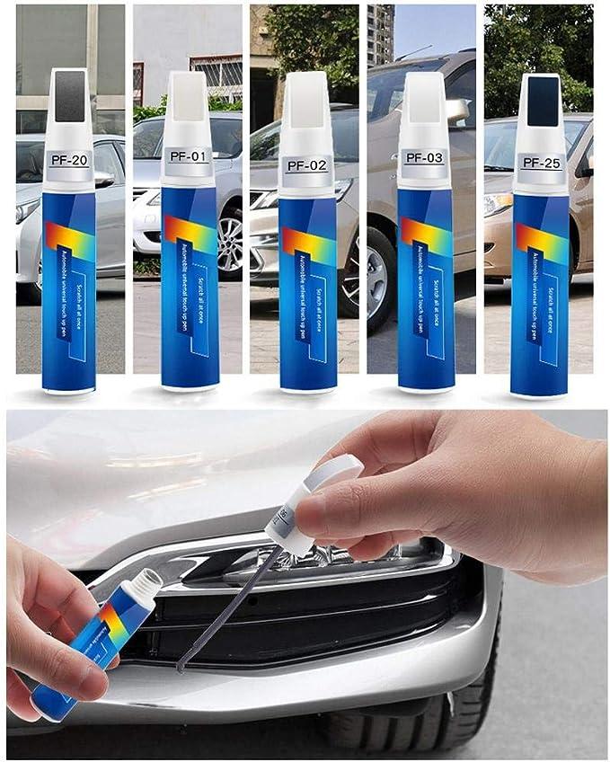 Cypressen Lackstift Auto Kratzer Reparaturschwarz Weißes Silber Blau Reparaturstift Für Kratzerreparatur Malen Sie Stift Auto