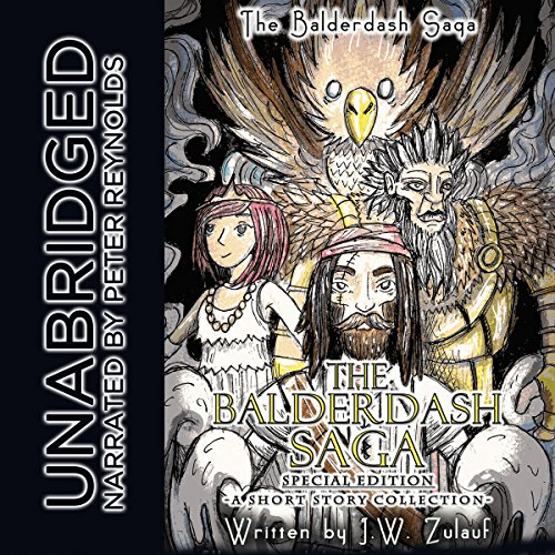 The Balderdash Saga, Special Edition audiobook cover art
