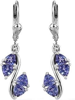 tanzanite silver jewellery
