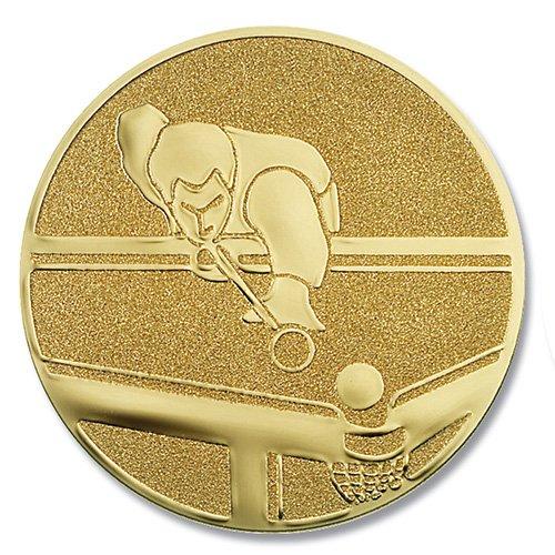 Coppa-emblem piscina-stecca da oro