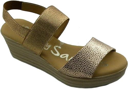 Oh  My sandals 4236 E190421 Sandales Confortables pour Femme Cuivre