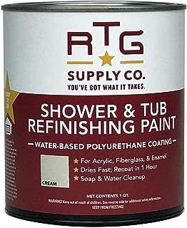 RTG Shower & Tub Refinishing Paint (Cream)