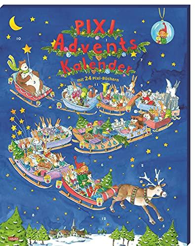 Pixi Adventskalender 2021: Mit 22 Pixi-Büchern und 2 Maxi-Pixi