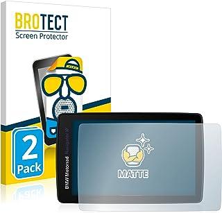 BROTECT 2x Antireflecterende Beschermfolie compatibel met BMW Motorrad Navigator VI Anti-Glare Screen Protector, Mat, Onts...