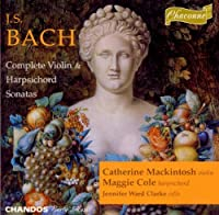 Bach;Violin & Harpsichord