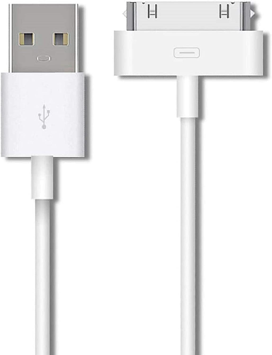 Apple MFi Certified 30-Pin to USB Cable Lowest price challenge iPhone Long Beach Mall for 4 Charging