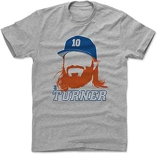 500 LEVEL Justin Turner Shirt - Los Angeles Baseball Men's Apparel - Justin Turner Silhouette