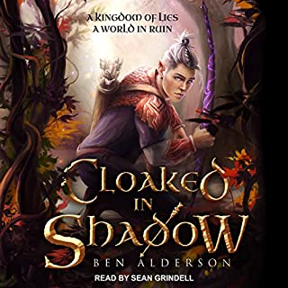 Cloaked in Shadow audiobook cover art