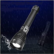 Flashlights,Most Powerful XHP90 LED Flashlight Zoom Torch XHP70.2 USB Rechargeable Waterproof Lamp Use 18650 26650 for Cam...