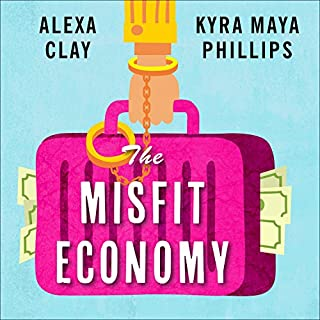 The Misfit Economy audiobook cover art