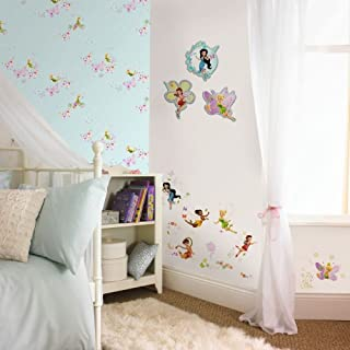 Graham & Brown Fairies, just add Pixie & Dust - Papel pintado para habitación infantil (colección kids@homeIII), diseño de hadas y mariposas