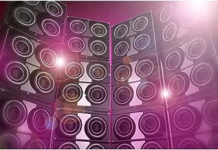 Leyiyi Disco KTV Dance Hall Backdrop 7x5ft Photography Backdrop Sound Recorder Vocal Concert Backdrop Photo Booth Props