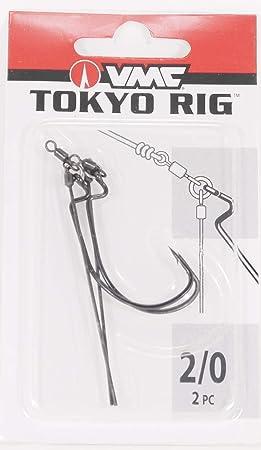 Choice of Sizes VMC Tokyo Rig Heavy Duty Worm Hook