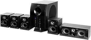 auna Areal 525 BK Home Cinema 5.1 – Equipo de Sonido Envolvente , 5 Altavoces..