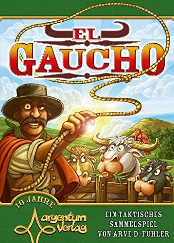 Argentum Verlag ARG01002 - El Gaucho Inglés, Juego de mesa , Modelos/colores Surtidos, 1 Unidad