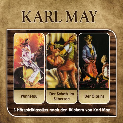 Karl May-Hörspielbox Vol. 1 Titelbild