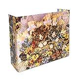 Privé Kitty Litter Screen - Floral Design