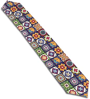 FsszpZZ Long Table Runners Mandala Talavera Mexican Tiles Table Runner Perfect Everyday Use for Office Kitchen Dining Wedding